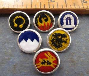 regalia buttons