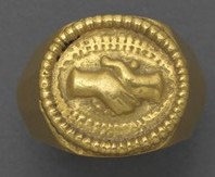Fede ring 3rd Cent CE